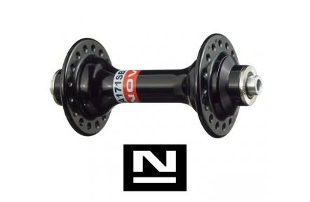 Náboj Novatec A171SB, přední, 20-Děr, černý (N-logo)