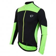 PEARL iZUMi PRO PURSUIT LS triko WIND dres, černá/SCREAMING zelená