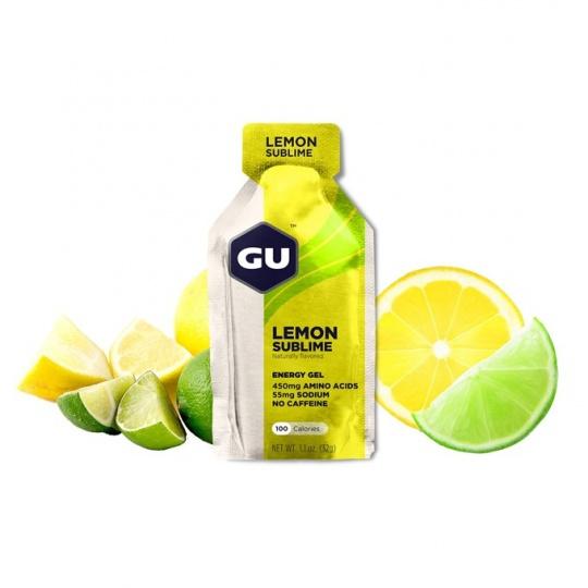 GU Energy Gel 32 g Lemonade 1 SÁČEK (balení 24ks)