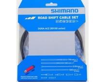 SHIMANO řadící lanko silniční polymer R9100 černé