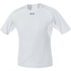 GORE M WS Base Layer Shirt-light grey/white