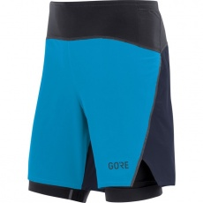 GORE R7 2in1 Shorts-dynamic cyan/orbit blue