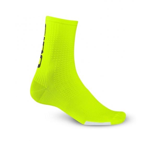 GIRO ponožky HRC Team-hi yellow/black