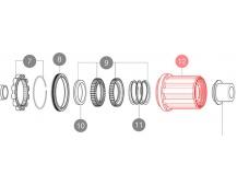 19 MAVIC PŘÍSLUŠENSTVÍ HG9 MTB ocelový ořech náboje ID360 (V3790101)