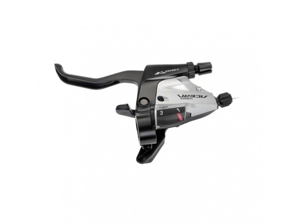 Řadící-brzdová páka MTB Shimano Acera ST-M390 pro 3 převodník levá