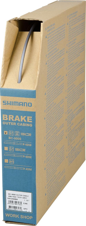 SHIMANO brzdové lanko BC-9000 40 n šedé