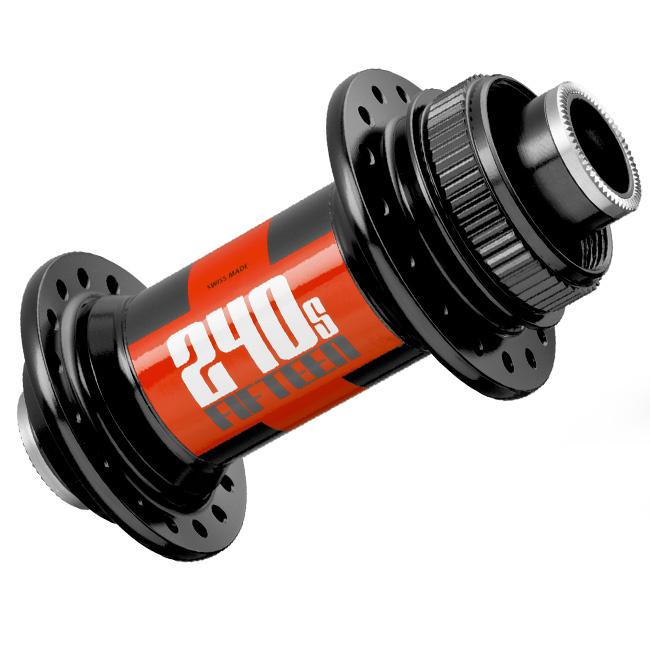 DT SWISS náboj 240S center lock přední, 100 mm, 28/32 děr, černá