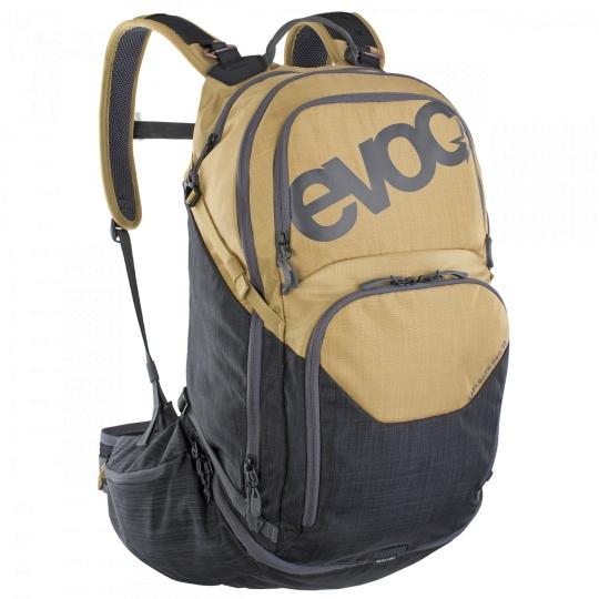 EVOC batoh EXPLORER PRO 30l gold - carbon grey
