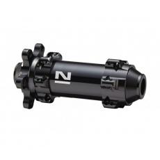 Náboj Novatec D411SB-12, přední, 28-děrový, černý (N-logo)