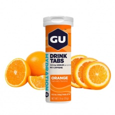 GU Hydration Drink Tabs 54 g - Orange 1 tuba (balení 8ks)