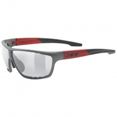 2021 UVEX BRÝLE SPORTSTYLE 706, GREY MAT - RED (5316)