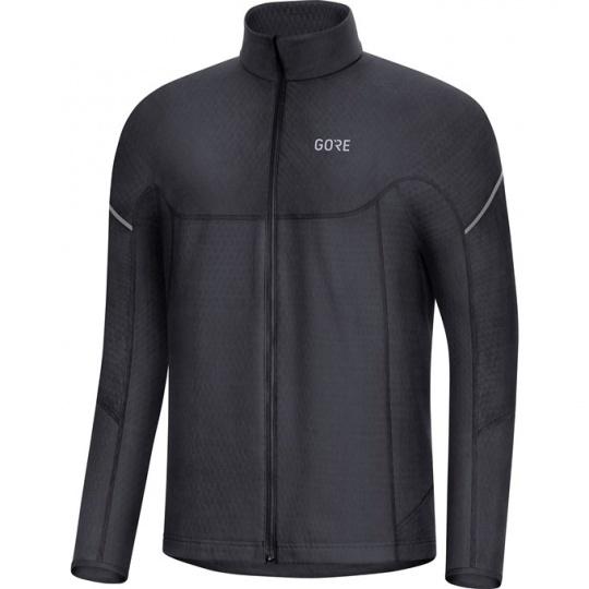 GORE M Thermo Long Sleeve Zip Shirt-black
