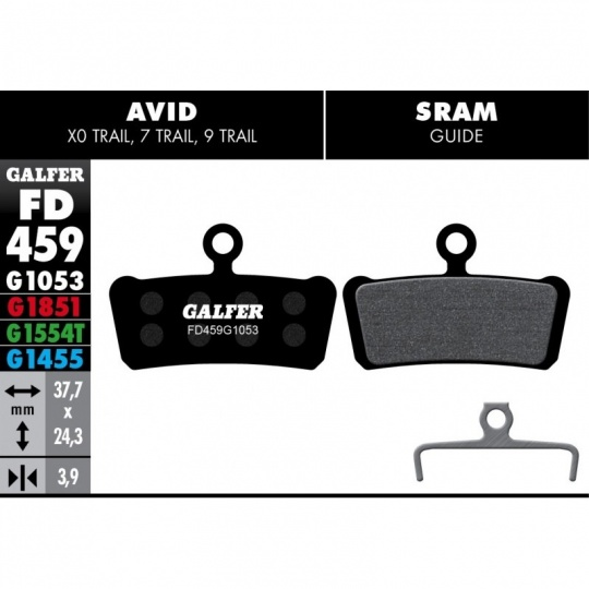 GALFER destičky AVID/SRAM FD459 advanced