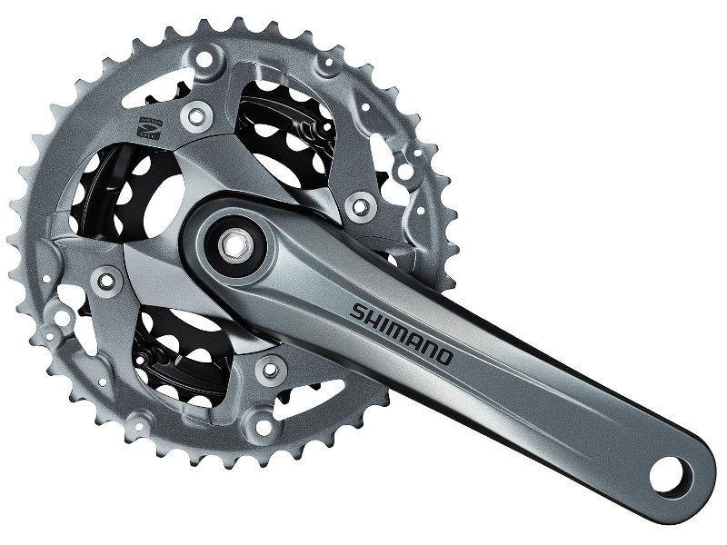 Kliky MTB Shimano Alivio FC-M4000 175mm 40x30x22 pro 9kolo