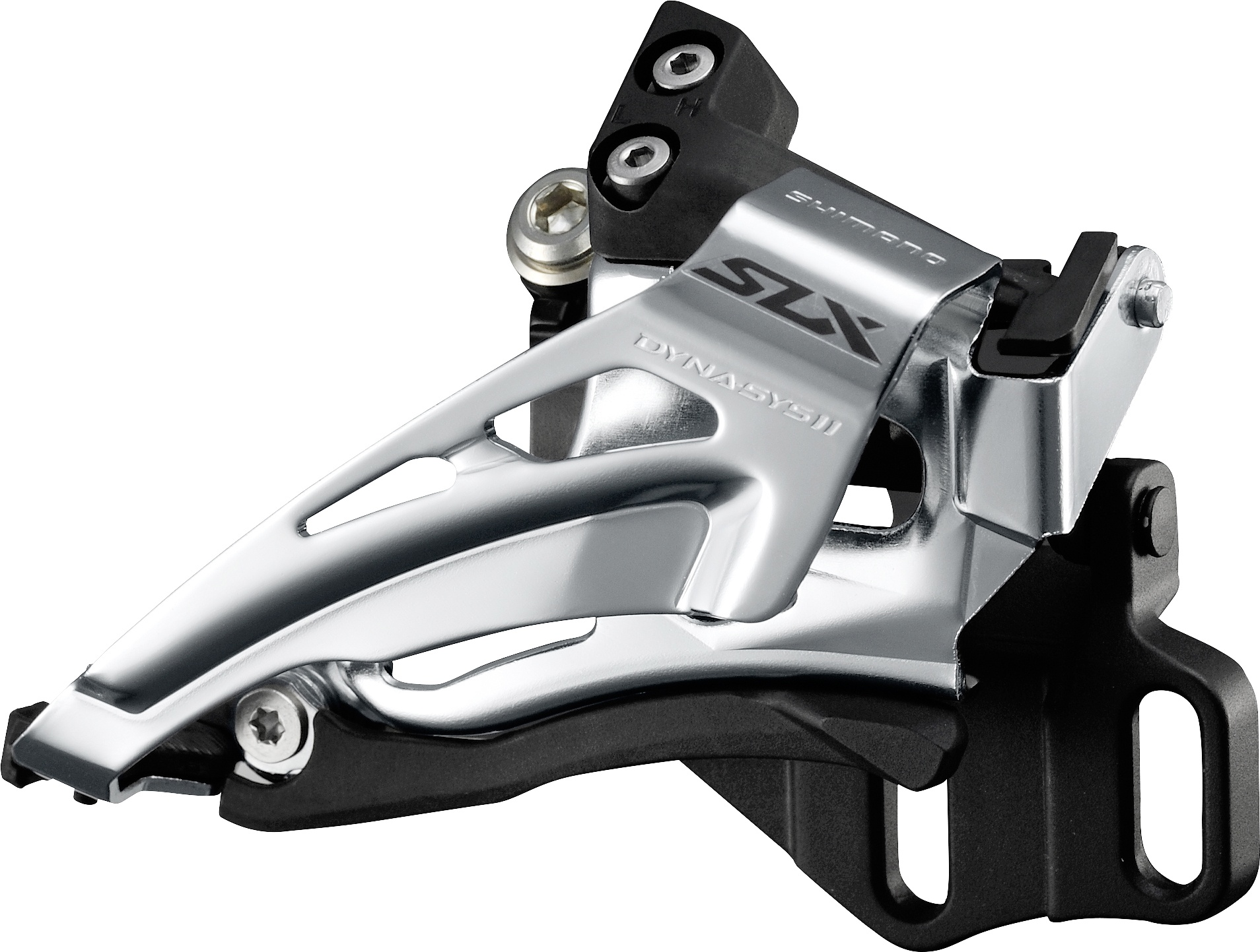 SHIMANO přesmykač SLX FD-M7020 MTB pro 2x11 př mont E-typ bez BB Top-swing down-pull 34/38 z