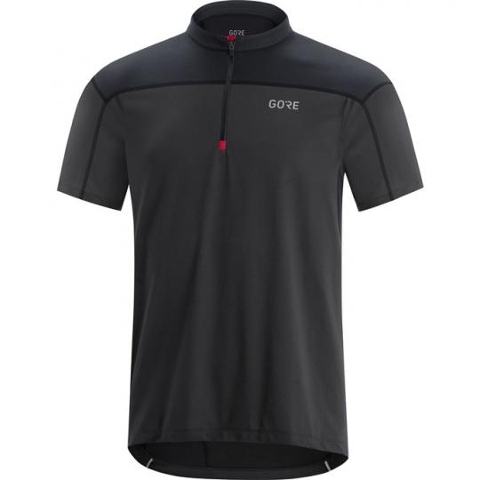 GORE C3 Zip Jersey-terra grey/black
