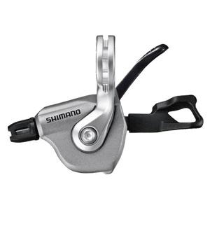SHIMANO řadící páčka ULTEGRA SL-RS700 levá 2 rychl stříbrná pro rovná řídítka nebal