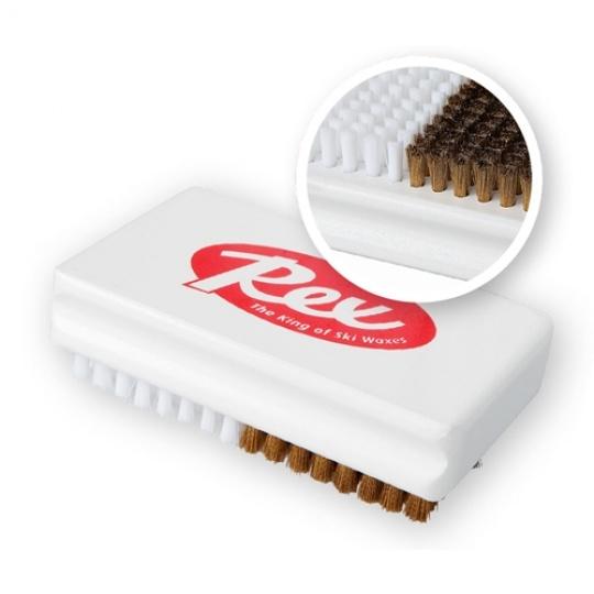 REX 617 Metal/nylon brush (mosazný / nylonový kartáč)