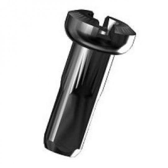 Sapim nipl Alu Polyax 14mm černý zámek secure lock