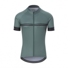 GIRO Chrono Sport Jersey Grey Green Classic Stripe