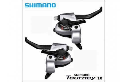 Řadící-brzdové páky MTB Shimano Tourney ST-TX800 3x8 levá+pravá