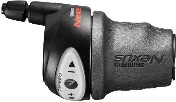 SHIMANO řadící páka SL-7S31 revoshift černá pro CJ-NX10, lanko 2320mm