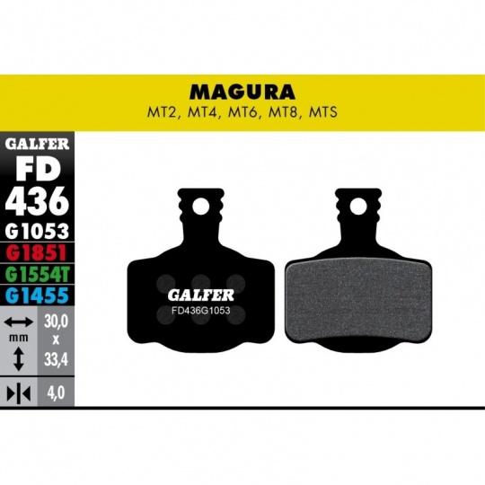 GALFER destičky MAGURA/CAMPAGNOLO FD436 standart