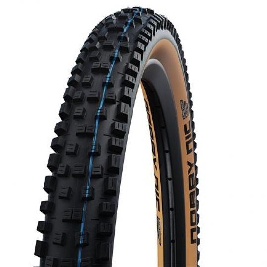 Schwalbe plášť NOBBY NIC new 29x2.4 SuperGround TLE Addix SpeedGrip classic sidewall skládací