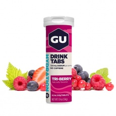 GU Hydration Drink Tabs 54 g Triberry 1 tuba (balení 8ks)