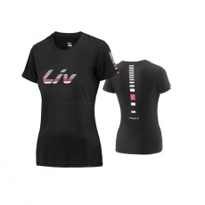 LIV Signature Cotton T-Shirt-black