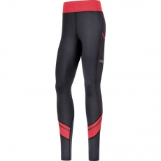 GORE R3 Women Mid Tights-black/hibiscus pink