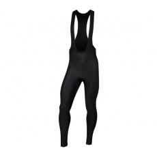 PEARL iZUMi AMFIB cyklistické kalhoty s láclem, černá