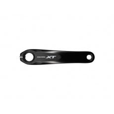 SHIMANO kliky STEPS E8000, logo XT, 175 mm, černé, bez přev.