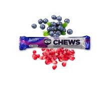 GU Chews 54g-blueberry/pom. 1 SÁČEK (18 sáčků v balení)