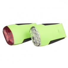 GUEE Tadpole USB SET př+z světlo/blikačka-zelený