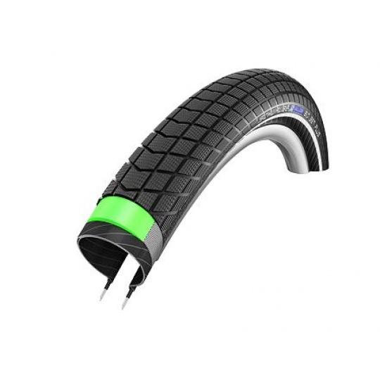 Schwalbe plášť Big Ben Plus 50-622 GreenGuard SnakeSkin černá+reflexní pruh