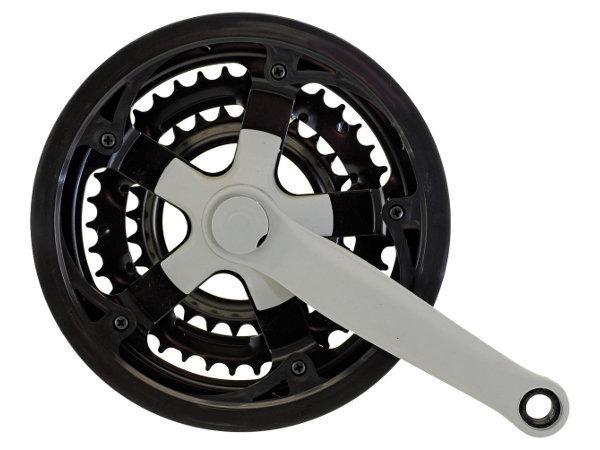 Kliky Trek ocel-plast + kryt 28/38/48 170mm barva černá