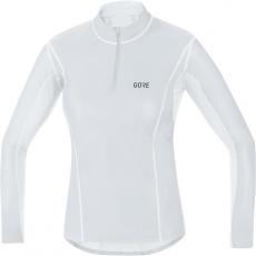 GORE M Women WS Base Layer Thermo Turtleneck-light grey/white