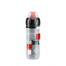 ELITE termo láhev ICEBERG 20' červená grafika 2h 650ml