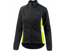 GORE Phantom Lady WS Zip-Off Jacket-black/neon yellow