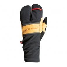 PEARL iZUMi AMFIB LOBSTER rukavice, černá/DARK TAN