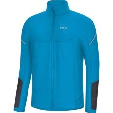 GORE M Thermo Long Sleeve Zip Shirt-dynamic cyan/black
