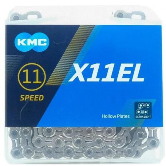 ŘETĚZ KMC X11 EL STŘÍBRNÝ BOX