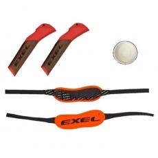 EXEL C Cork Grip Evolution Oranžová + Biathlon + Glue, náhradní madla a poutka