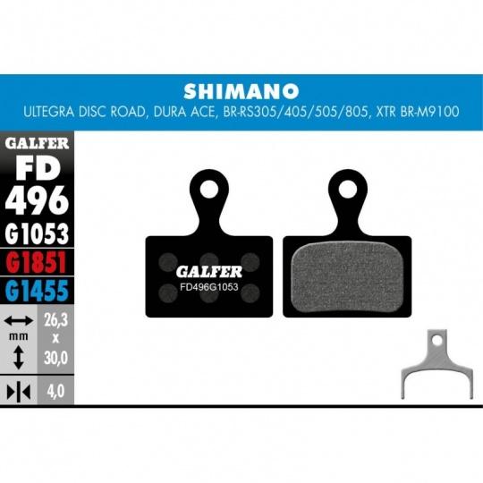 GALFER destičky SHIMANO XTR FD496 standart
