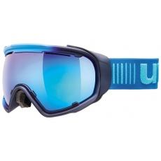 lyžařské brýle UVEX JAKK SPHERE, ice-navy mat/mirror blue (4026)