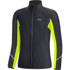 GORE R3 Women GTX Infinium Partial Jacket-black/neon yellow