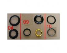 Headset NO57/52 28.6-44-56-39.8 H=13.5 mat.b.blk