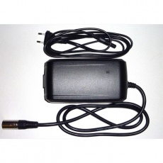 Charger 4A 220V/36V, EU (CEE), 3Pin conn. (2017)