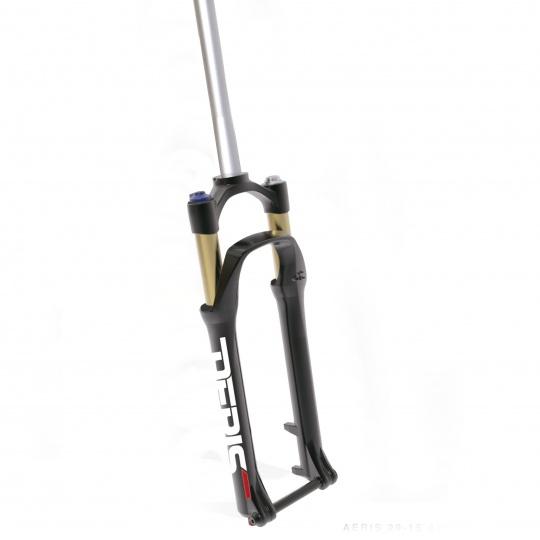 SPINNER 29'' odpružená vidlice AERIS AIR, remote, zdvih 100 mm, DISC, 15mm osa, 1-1/8'', černá